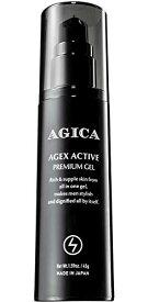 AGICA (アジカ) メンズ オールインワン ジェル 【 大人ニキビ 肌荒れ シミ くすみ エイジングケア 】 男性用 スキンケア 医薬部外品 日本製 45g AGEX ACTIVE PREMIUM GEL