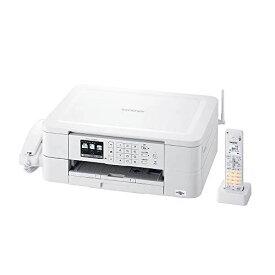ブラザー プリンター A4 インクジェット複合機 MFC-J738DN FAX 電話機 子機1台付き 無線LAN