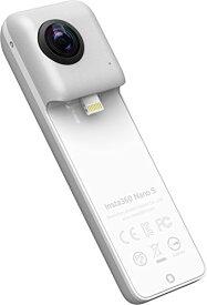 Insta360 Nano S Silver 360度カメラ 4Kビデオ iPhone X/8/7/6シリーズ対応 CM425 【国内正規品】