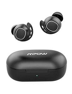 Mpow M30 ワイヤレス イヤホン bluetooth5.0 スポーツイヤフォン 25時間音楽再生 IPX7防水 AAC Siri対応 MCSync Type-C充電 片耳対応 左右分離型 マイク搭載 タッチコントロール ベースサウン