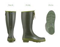 Dandelion(ダンデライオン)高機能ガーデニングレインブーツレインシューズメンズロング長靴ラバーブーツロング梅雨日本製