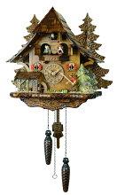 【送料無料】鳩時計ドイツ森の時計山小屋4739QMT【楽ギフ_包装】