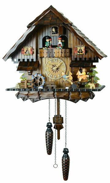 鳩時計 壁掛け時計 ハト時計 はと時計 ポッポ時計 クォーツ鳩時計4746QMT【楽ギフ_包装】10P09Jul16