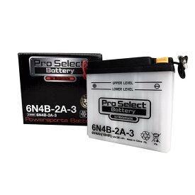 バイクパーツ バイクバッテリー6N4B-2A-3Pro Select Battery (プロセレクトバッテリー) 11068280 取寄品 セール