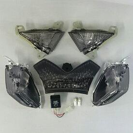 バイク用品 電装系オダックス ODAX LEDスモークレンズ・コンプリートキット ZX14R ZZR1400 インテグレートテールOXS-ZX1441-SF-I 4589491166489取寄品