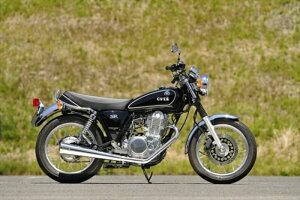 バイク用品 マフラーOVER RACING オーバーレーシング SSメガホンマフラー SR400(FI)16-401-02 4539770102899取寄品 セール