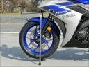バイク用品 メンテナンスBATTLE.F バトルファクトリー フロントワンタッチスタンド YZF-R25 15BA10-Y10 4548916381678…