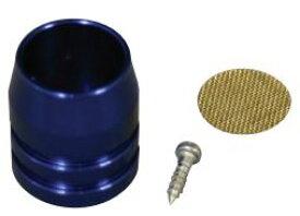 バイク用品 吸気系 エンジンCF-POSH シーエフポッシュ ブリーザーホースヨウエンドキャップ ブルー200080-03 4947934005403取寄品 セール