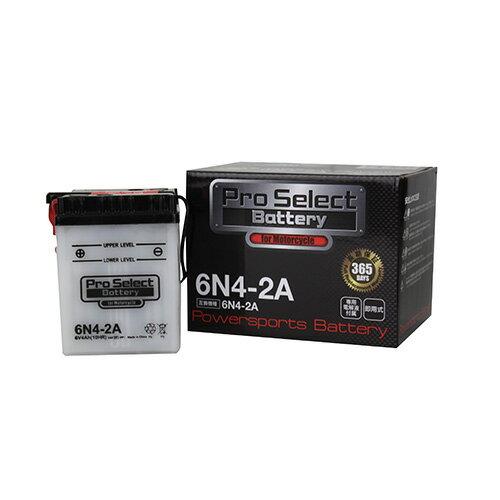 バイクパーツ バイクバッテリー6N4-2APro Select Battery (プロセレクトバッテリー) 11068242 取寄品