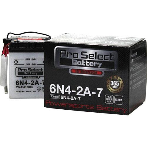 バイクパーツ バイクバッテリー6N4-2A-7 (6N4-2A-7 互換)Pro Select Battery (プロセレクトバッテリー) PSB036 取寄品