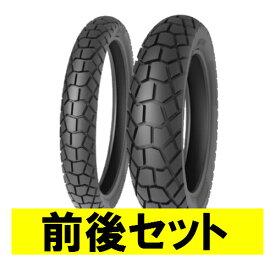 バイクパーツ バイクタイヤ セット売り TS823 100/90-19 F 57P 120/90-18 F/R 65P TL 前後セットTIMSUN (ティムソン)取寄品