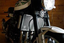 セール バイク用品 冷却系 ラジエタートリックスター ラジエターコアガード ブラックメッキ Z900RSトリックスター VHG-031-BM 取寄品