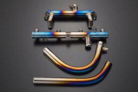 セール バイク用品 冷却系 その他(冷却系)K-FACTORY チタン製ウォーターパイプセット SBL GPZ900Rケイファクトリー 112OZEN002P 取寄品