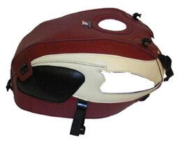 楽天スーパーセール バイク用品 ケース(バッグ)&キャリア 車両用ソフトバッグBAGSTER タンクカバー ワインレッド クリーム W650バグスター 1377A 取寄品