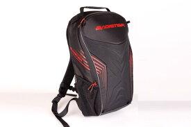 楽天スーパーセール バイク用品 鞄&リュックサック&財布 リュックサックBAGSTER リュックサック RACER 20L ブラック レッドバグスター XSD181 取寄品