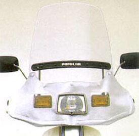 セール バイク用品 外装 スクリーン旭風防 エ-エフアサヒ アサヒフウボウ ポピュラー3 ウインドシールドAF-ASAHI POP3 取寄品