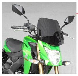 セール バイク用品 外装 スクリーン旭風防 エ-エフアサヒ アサヒフウボウ ミドルスクリーン Z125PROAF-ASAHI KZ-03 取寄品