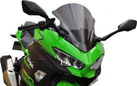 バイク用品 外装 スクリーン旭風防 エ-エフアサヒ アサヒフウボウ ウインドスクリーン スモーク NINJA250 400 18AF-ASAHI NJ-31 取寄品