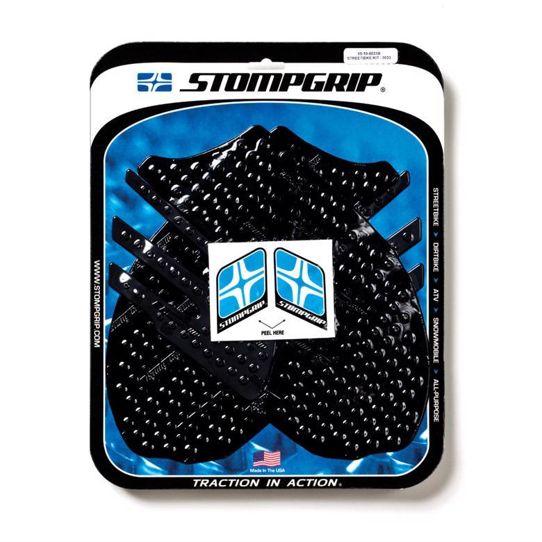 STOMPGRIP トラクションパッドタンクキット ブラック ZZR1400(ZX14) 0> 《ストンプグリップ 55-10-0033B》