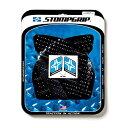 STOMPGRIP トラクションパッドタンクキット ブラック ZX6R 09-17 《ストンプグリップ 55-10-0037B》
