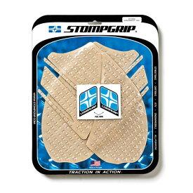 STOMPGRIP トラクションパッドタンクキット クリア ZX-14 12-17/ZZR14> 《ストンプグリップ 55-10-0042》