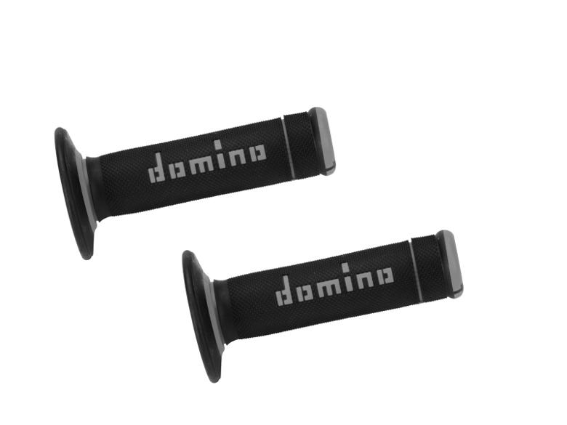 domino グリップ オフロードタイプ エクストリーム ブラックXグレー 《ドミノ A19041C5240MOTO GP 》
