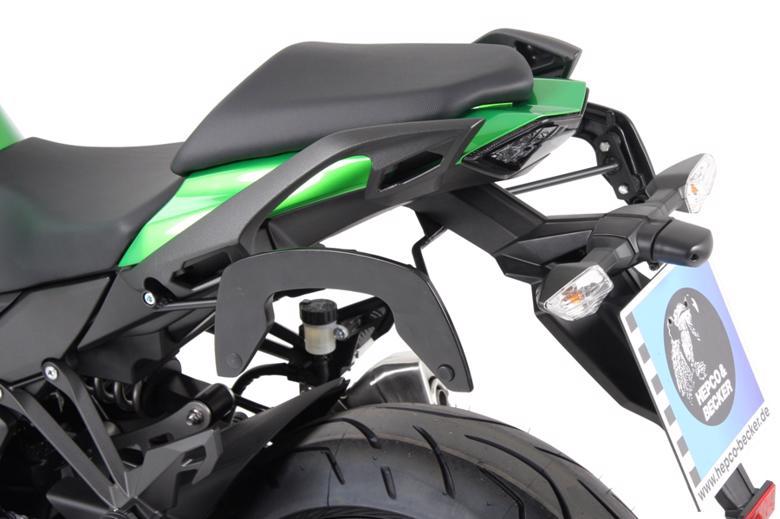 ヘプコ&ベッカ C-Bow ブラック Ninja1000 17-18 《ヘプコアンドベッカー 6302530 00 01ツーリング ケース 》