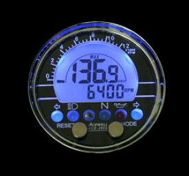 ACEWELL エースウェル 多機能デジタルメーター ACE-2802 汎用 ACE-2802 《スピードメーター バイク用》