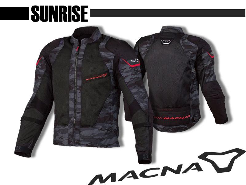 【送料無料】 MACNA SUNRISE 《メッシュジャケット ツーリング》