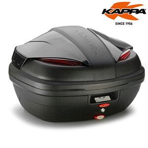 バイクリアボックスKAPPA(カッパ)リアボックス K47NNトップケース イタリア 大収納 鍵付き 安全 ブラック