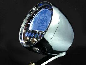 楽天スーパーセールACEWELL エースウェル 多機能デジタルメーター ACE-2802CP 《スピードメーター バイク用》