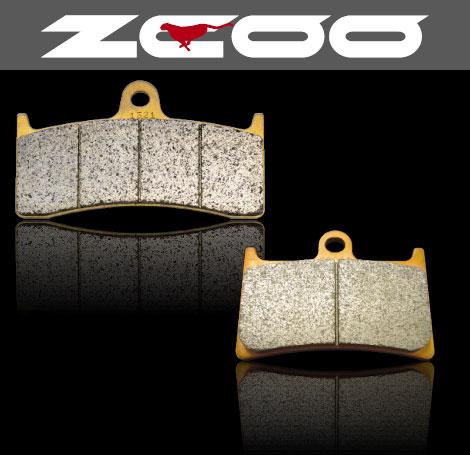 【ZCOO】【ジクー】【ブレーキ】【パッド】【パット】【バイク用】セラミックシンタード TYPE-C SUZUKI GSX-R 1000 04- TOKICO ラジアル 4pot【ZRM-T004C】