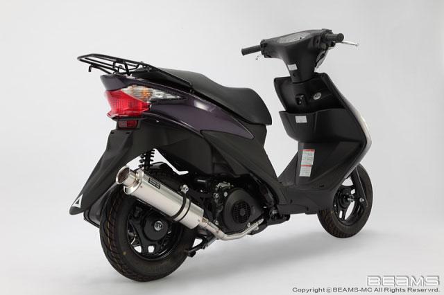 【BEAMS】【ビームス】【マフラー】【バイク用】SS300 ソニック ADDRESS アドレスV125S CF4MA【B321-07-000】【送料無料】