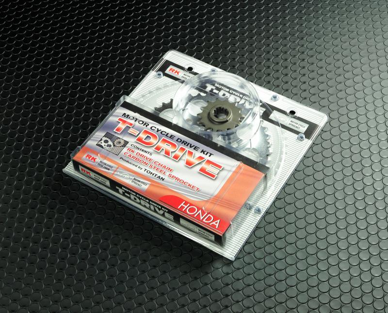 【東単オリジナル】【バイク用】T-DRIVE スプロケアンドチェーンキットCB400SF SUPER FOUR スーパーフォア VTEC -01 TRA-104