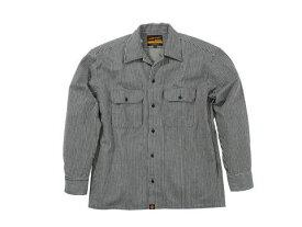 バイク用品 ウェア トレーナー&Tシャツ&シャツヘンリービギンズ HENLY B NHB-1503ワークシャツ Hブルー #M93154 4909449478301取寄品 セール