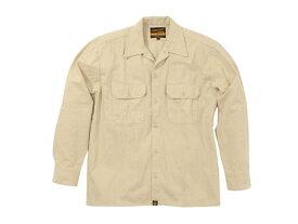 バイク用品 ウェア トレーナー&Tシャツ&シャツヘンリービギンズ HENLY B NHB-1503ワークシャツ Hベージュ #L93161 4909449478448取寄品 セール