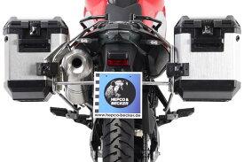 バイク用品 ケース(バッグ) キャリアHEPCO&BECKER ヘプコアンドベッカー ヘプコ&ベッカ サイドキャリア ステンレス カットアウトセット エクスプローラー付(ブラック) BMW F700GS 12-16651652 00 22-00-40 4549950806936取寄品 セール