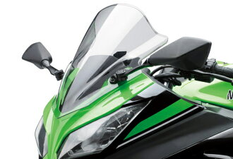 Windshield Kit clear / smoked Ninja250
