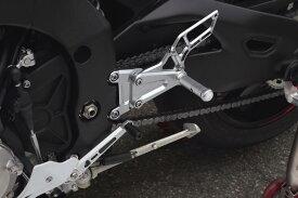 バイク用品 ステップケイファクトリー K-FACTORY ライディングステップ メタリックシルバー YZF-R1 15349MZBR104N 4582215606148取寄品 セール
