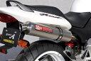 【ヤマモトレーシング】【マフラー】ホーネット250 SUS SLIP-ON SINGLE チタン【10253-01NTB】【送料無料】