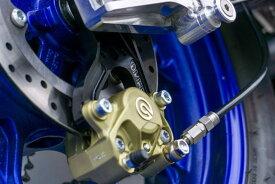 バイク用品 ブレーキ&クラッチオーヴァーレーシング OVERRACING Rキャリパーサポート ブレンボ2P(カニ)用 YZF-R25 19- MT-25 18-83-351-21B 4539770118791取寄品