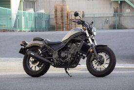 バイク用品 マフラーオーヴァーレーシング OVERRACING SSメガホンマフラー S O Rebel250 17-17-13-02 4539770119408取寄品