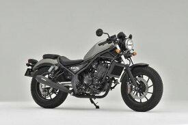 バイク用品 マフラーOVER RACING オーバーレーシング SSメガホン BLK サイレント スリップオン Rebel250 17-17-13-021 4539770120367取寄品 セール