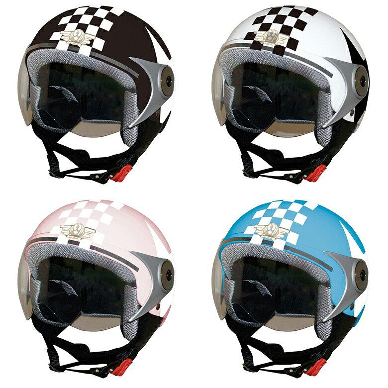 【DAMMTRAX】【ダムトラックス】POPO GT ポポGT STAR【ハーフジェットヘルメット】