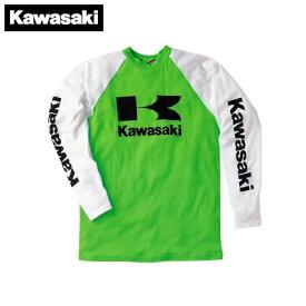 【KAWASAKI】【カワサキ】ロングフォーMXシャツ【J8901-0400】
