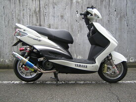 【RPM】【アールピーエム】 YAMAHA CYGNUS-X(シグナスX)125 台湾Fi五期 用 80D-RAPTOR Titan SUS/BlueTitan【JMCA】【6031z】 フルエキゾーストマフラー