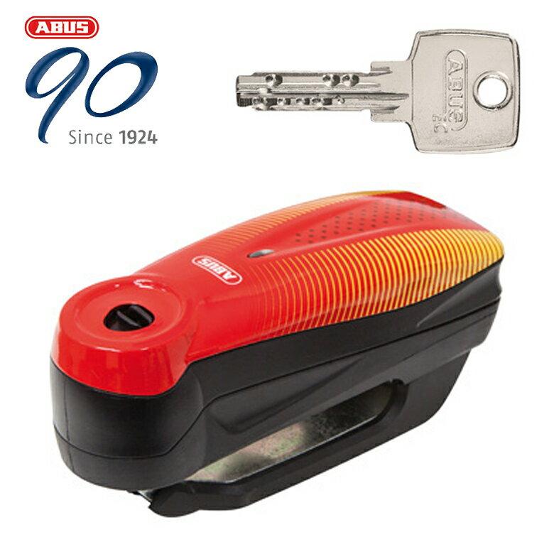 【はとやのおススメ防犯】ABUS【防犯】Alarm Brake Disc Locks Detecto 7000 RS1 アラームディスクロック【Detecto 7000 RS1 SONIC RED】