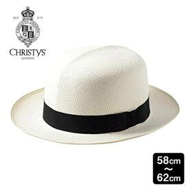 送料無料 CHRISTYS' LONDON 本パナマ ハット オプティモ Classic Folder Panama M〜3Lサイズ イギリス製 エクアドル産 スジイリ 筋入り パナマ帽 パナマハット ストローハット つば広ハット メンズ 男性 紳士 春夏 クリスティーズロンドン CPN100010 帽子