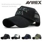 AVIREXアヴィレックスアビレックスキャップ帽子メッシュキャップメンズUSA人気トレンド