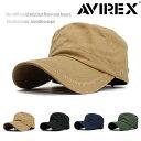AVIREX アヴィレックス アビレックス キャップ メンズ レディース 帽子 ワークキャップ 人気 トレンド 父の日 贈り物 …